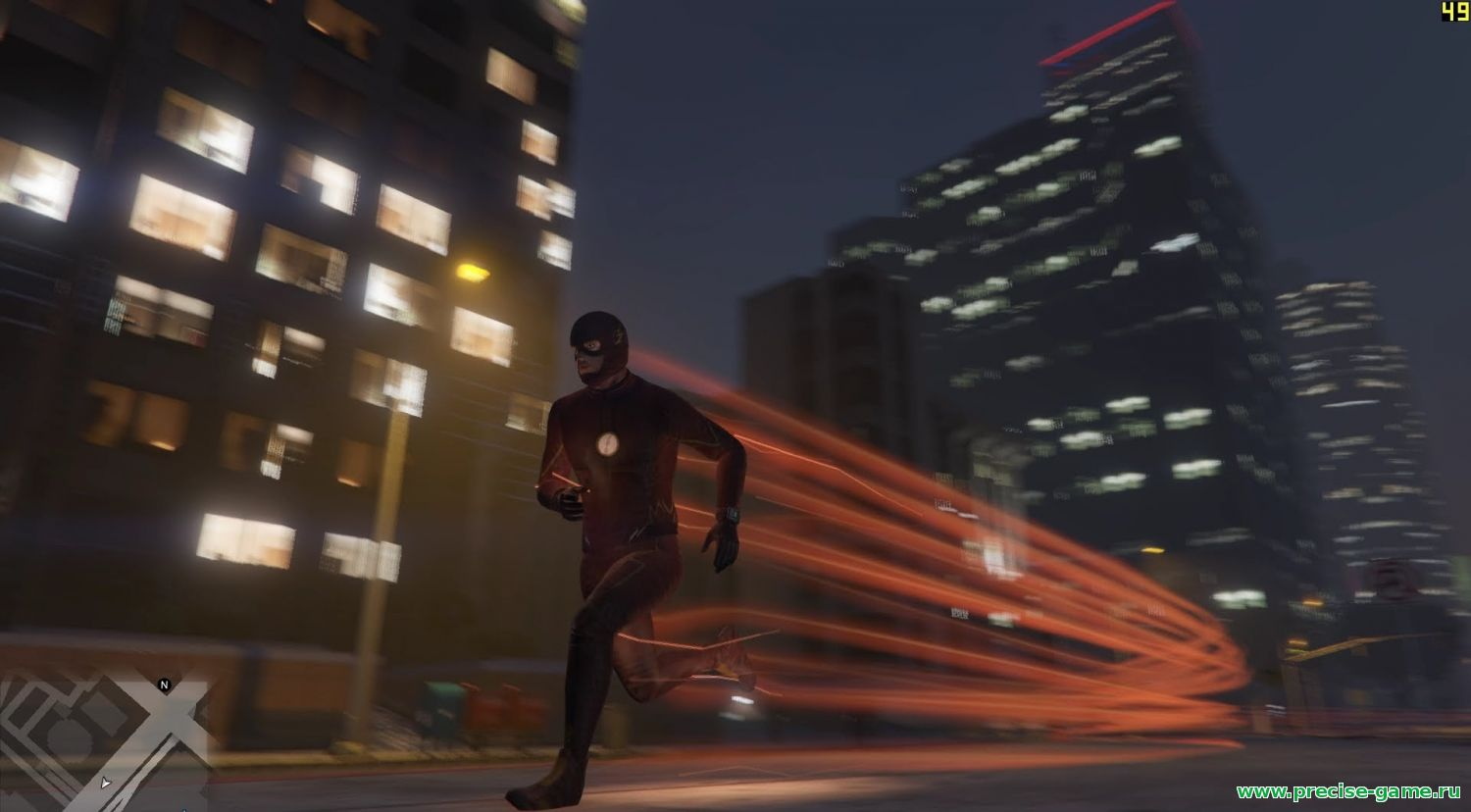 Мод The Flash для GTA 5