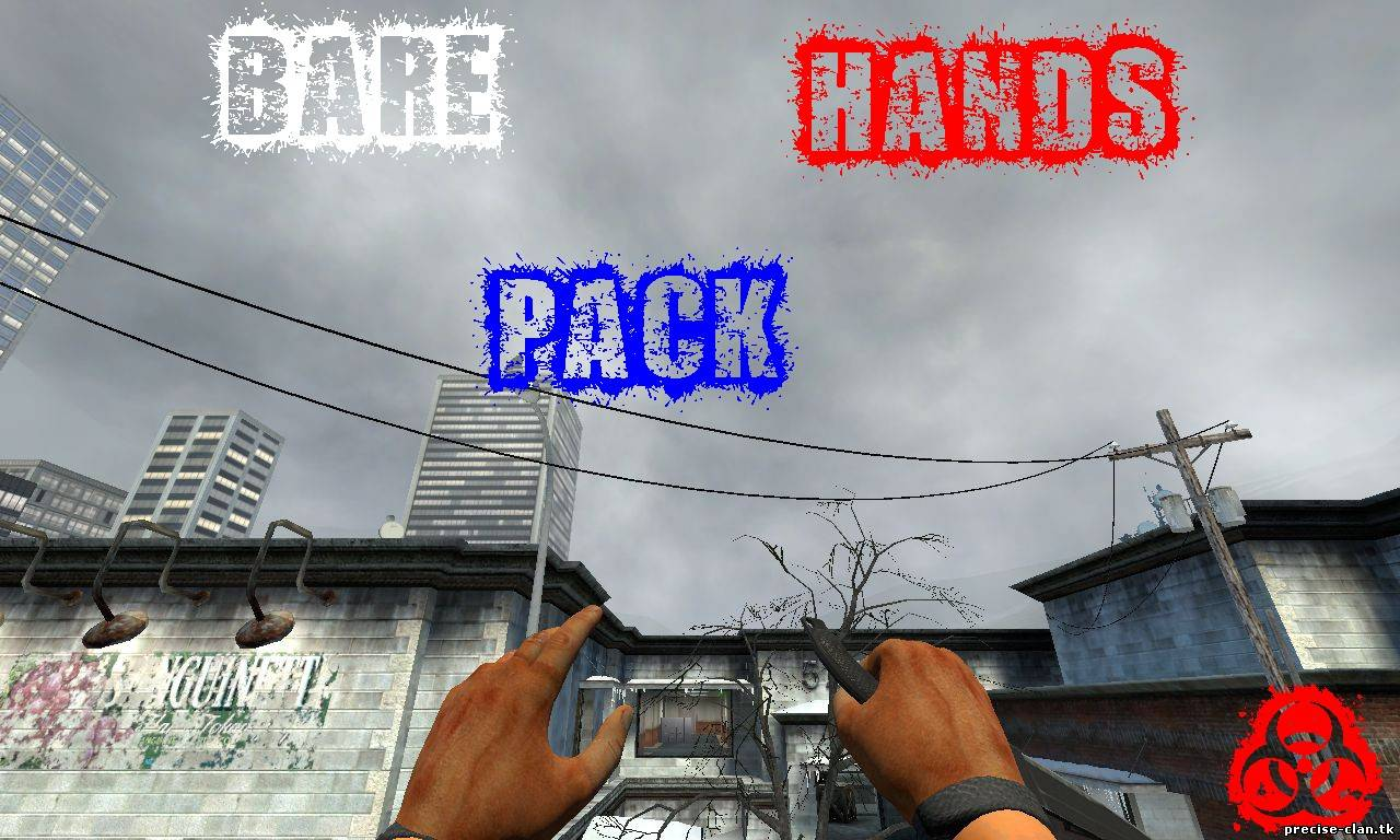 Bare hands pack